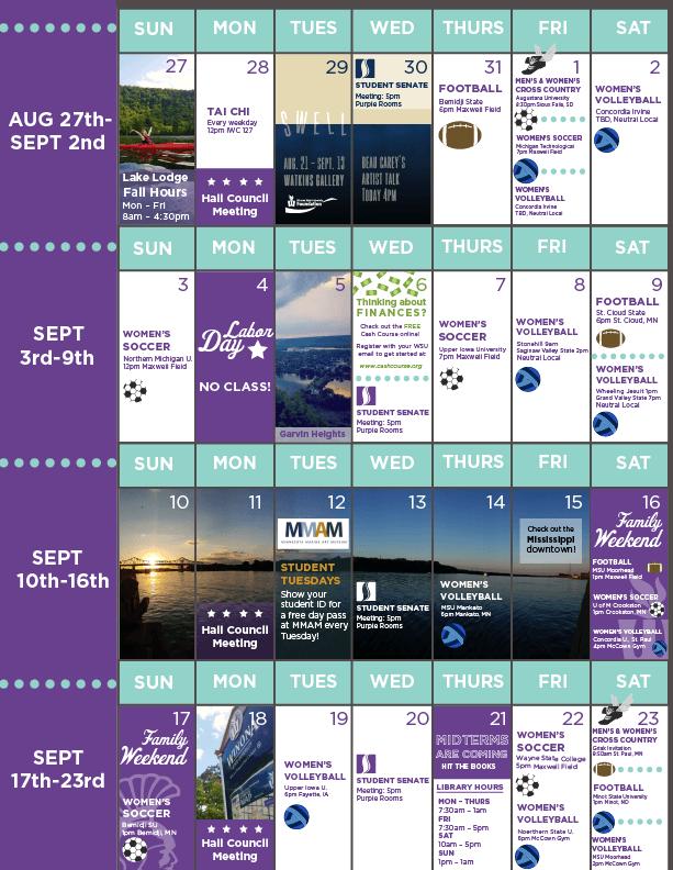 6 Week Calendar pt.2