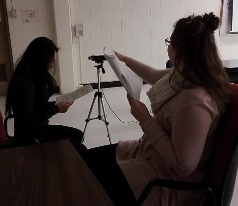 Recording with Maryam