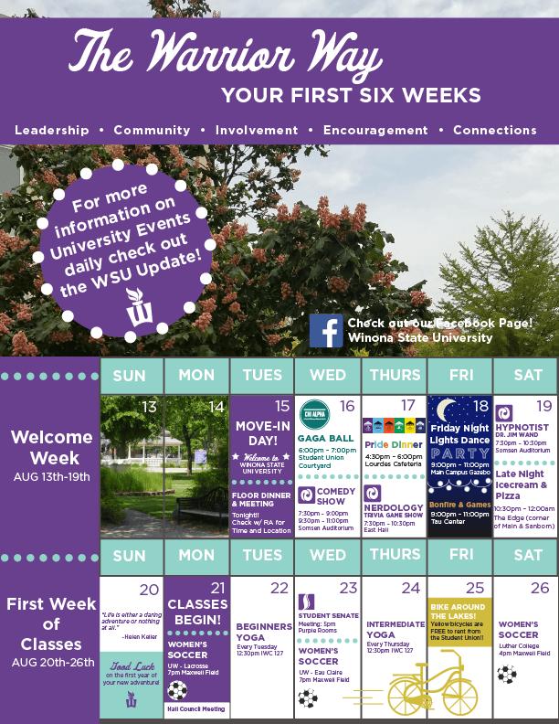 6 Week Calendar pt.1