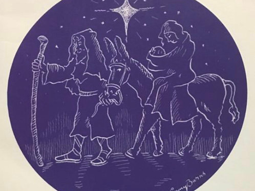 M4P Nativity Christmas Card (Pack of 6)