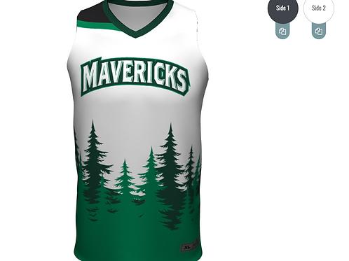 Custom Reversible Basketball Jersey
