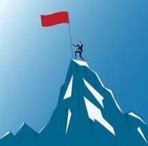 Capture flag mountain