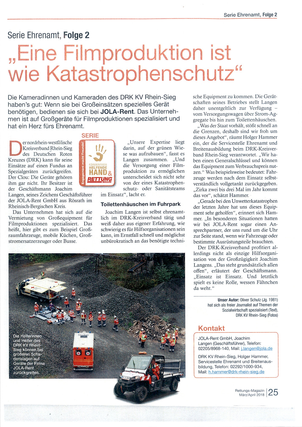 Rettungs Magazin