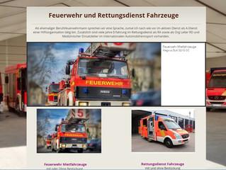 Feuerwehr/Rettungsdienst Mietfahrzeuge