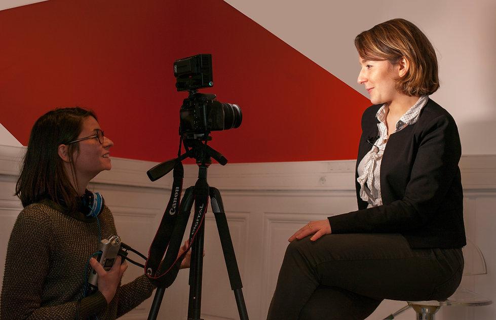 Illustration de l'activité de Claire Morel réalisatrice vidéo à Lyon