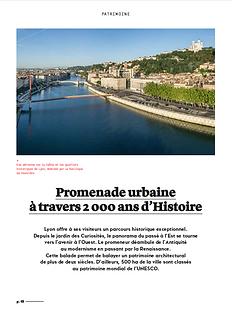 Rédaction d'un dossier de presse pour l'Office du tourisme de Lyon