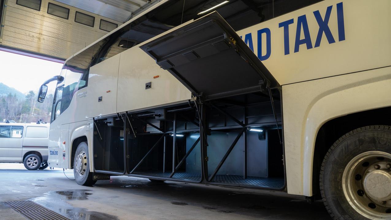 Bagasjerom Scania Touring HD