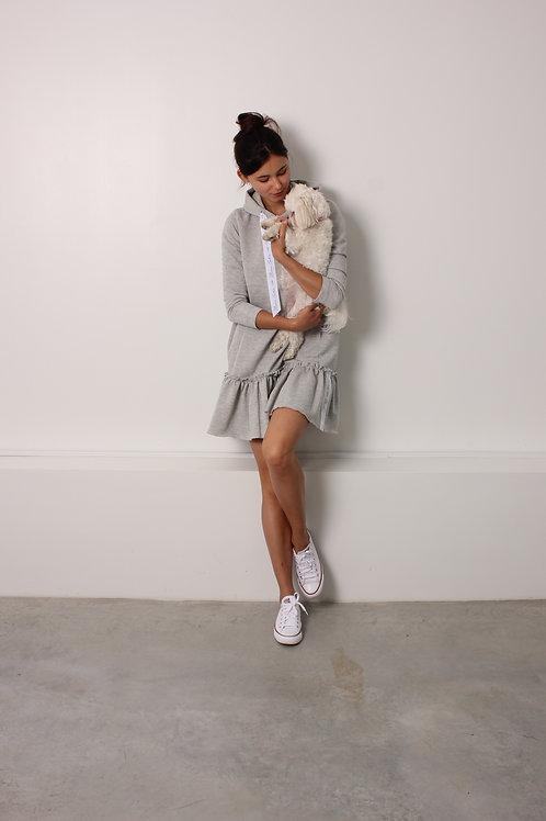 Grey Hoodie Dress