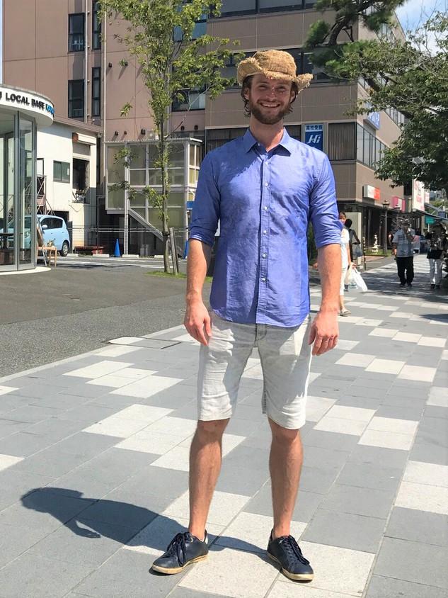 Sami in 鎌倉