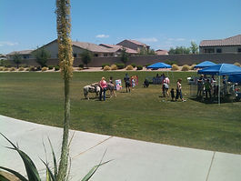 A birthday party with pony rides is a wonderful way to entertain children of all ages.