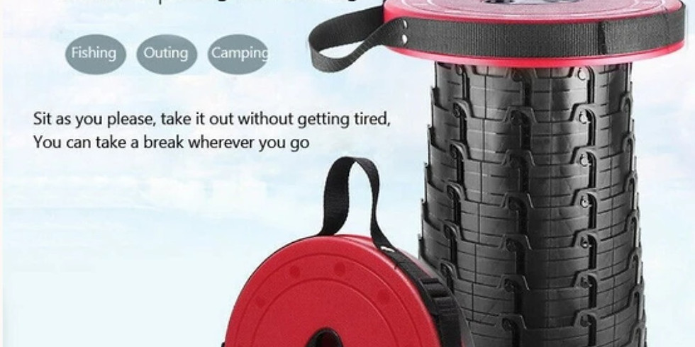 Expanadble Stool For The Car