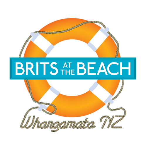 Brits at the Beach Decal