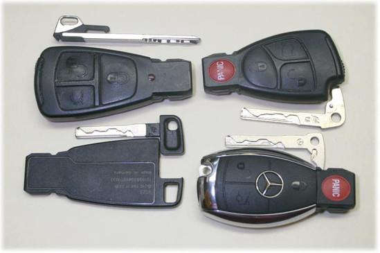 Llave Mercedes Benz