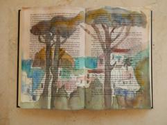 11, Hidden Jewel, watercolour in book, 31x22cm.jpg