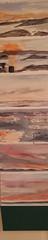19, Morning studies, Accordion book, watercolor on paper,130x24cm.jpg