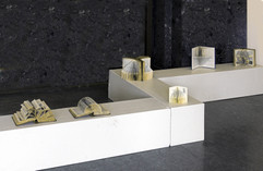 Exhibition of six book sculptures