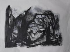 Fantasy, acrylics on canvas, 80x100cm