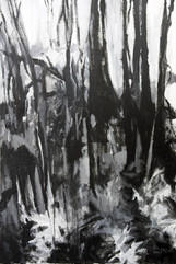 If the Trees could Speak V, acrylics on canvas, 110x80cm