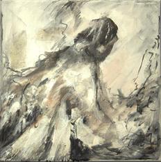 Girls not brides, oil on canvas, 30x30cm