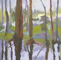 Landscape VI, oil on canvas, 50x50cm