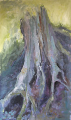 Roots, oil painting, 80x60cm