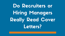Do Hiring Managers Expect To See A Cover Letter?