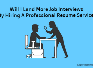 Will I Land More Interviews By Hiring A Professional Resume Writing Service?