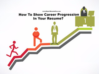 How To Show Career Progression In A Resume