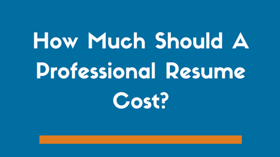 How Much Should A Professionally Written Resume Cost Rated 1