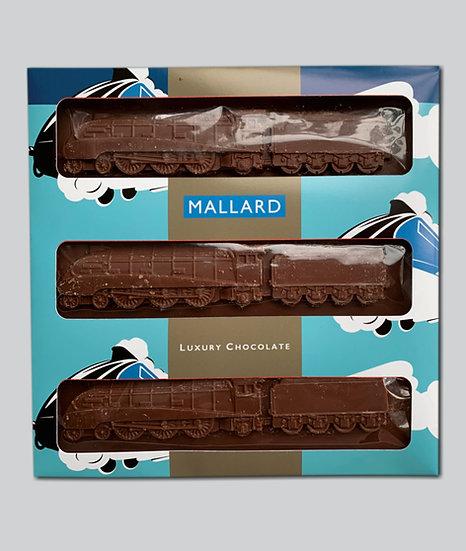 Mallard swiss chocolate steam train