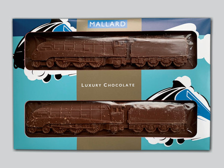 Pete Waterman loved his Flying Scotsman and Mallard Chocolate trains ...