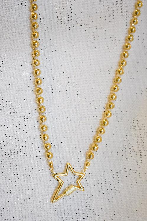 star lock necklace