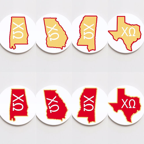 chi omega state button