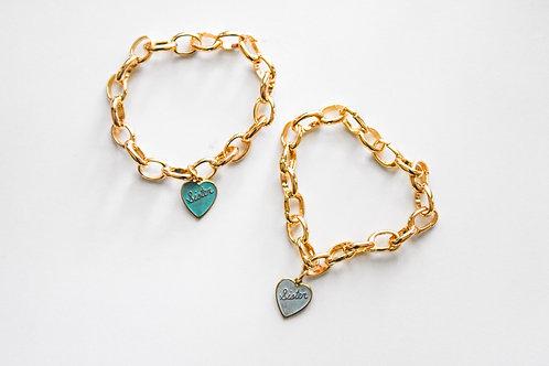 sister bracelet set