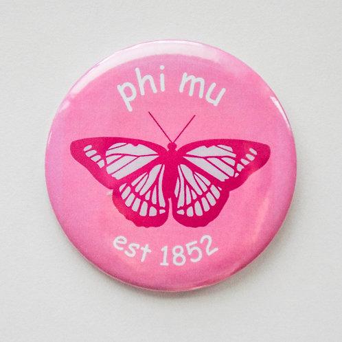 greek butterfly button