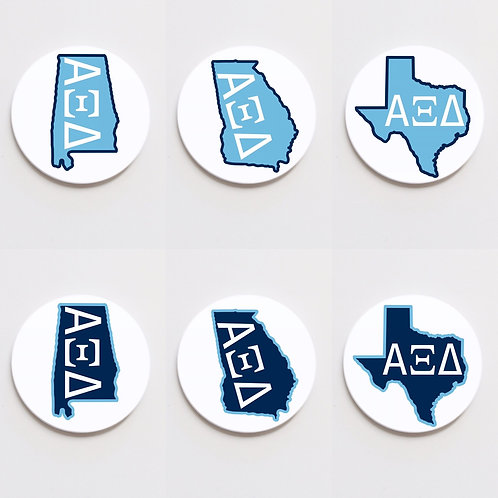 alpha xi delta state button