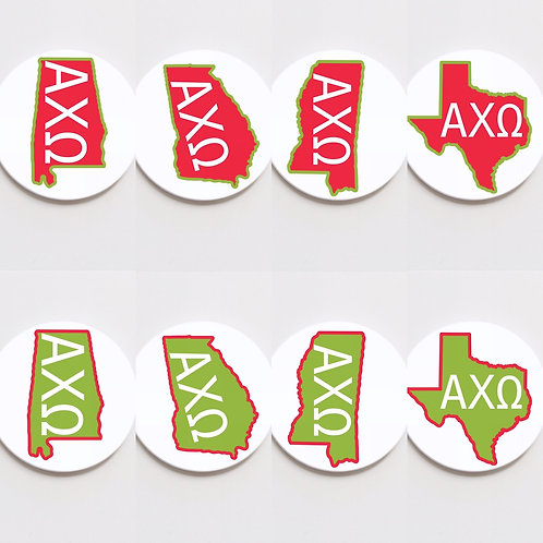 alpha chi omega state button