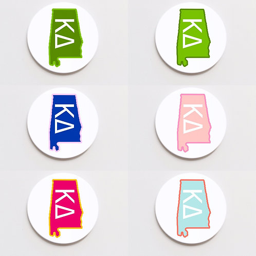 kappa delta state button