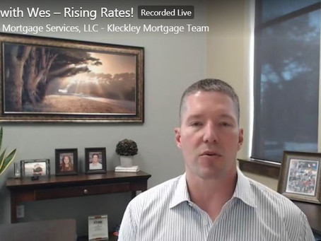 River Cliff Homes Weekly Video With Wes