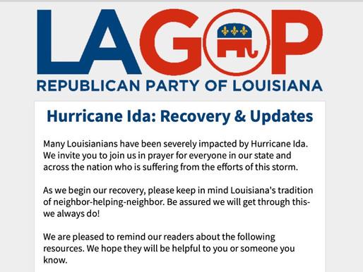Hurricane Ida: Recovery & Updates