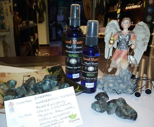 """RAPHAEL"" Angel Essence for Healing, Patience, Inner Truth & Love."