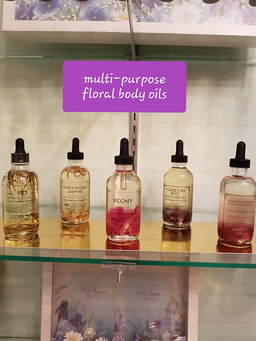 Natrual Body Oils