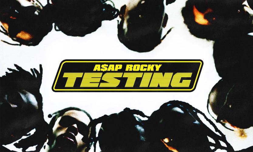 ASAP ROCKY Testing Album Cover