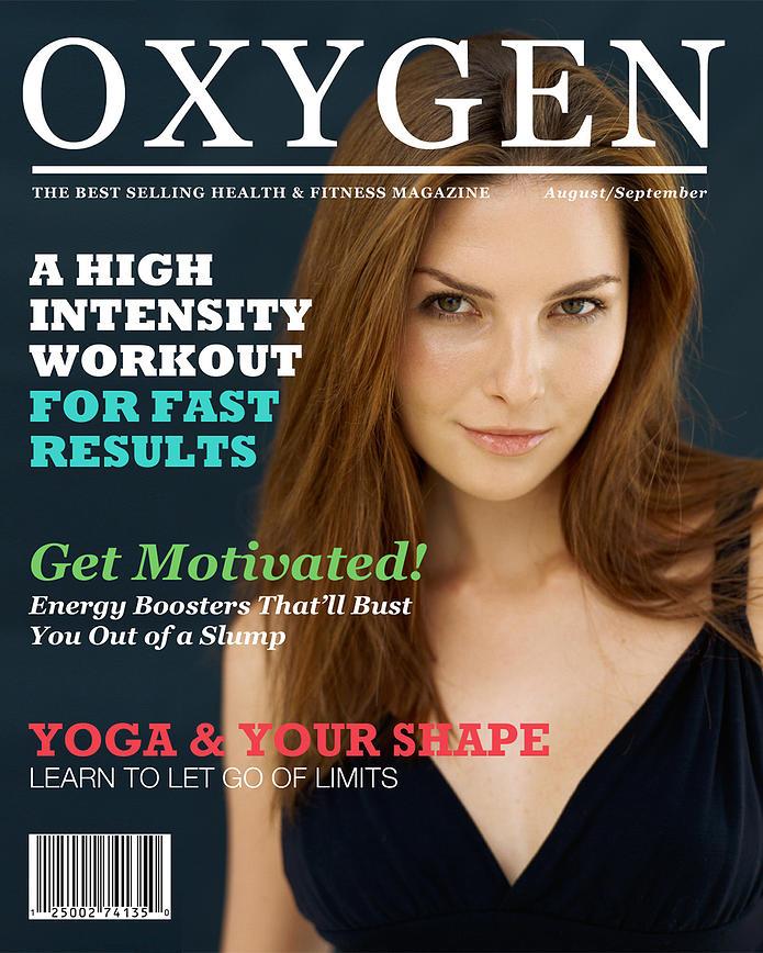 Oxygen Magazine Cover