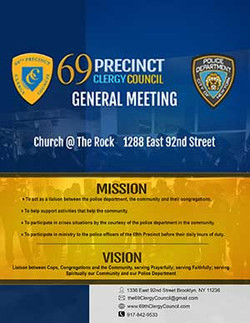 69 Precinct Clergy Council