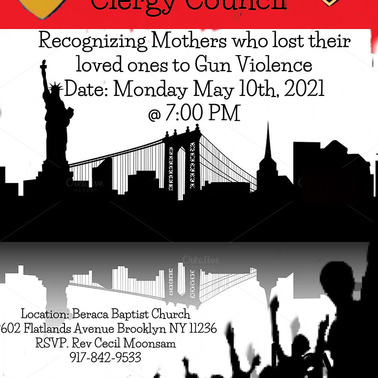 Recognizing Mothers who lost their loved ones to Gun Violence