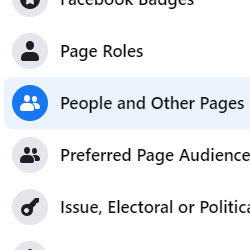 3. People and Other Pages