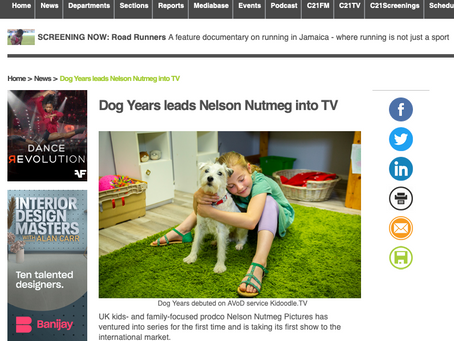 DOG YEARS mentioned in C21 Media