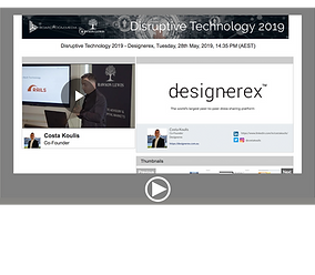 Disruptive Technology 2019 - Designerex