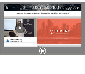 Disruptive Technology 2019 - Hivery